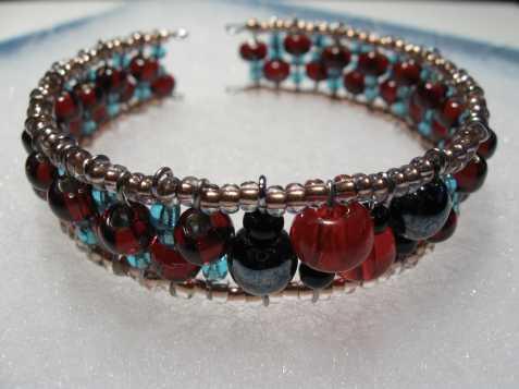 Bižuterie, šperky z korálků
